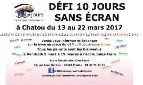 Flyer réunion d'informations